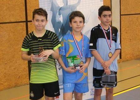 Tournoi jeune badminton La Rochelle 17