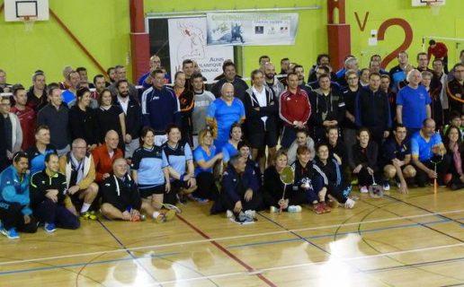 Tournoi Vétéran Courcon Badminton 2017